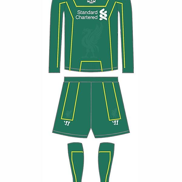 Liverpool \'Kick-ass\' goalkeeper kit