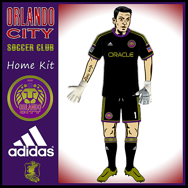Orlando City Goalkeeper Kit