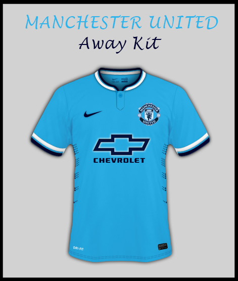 Manchester United Away Kit by Manchester City