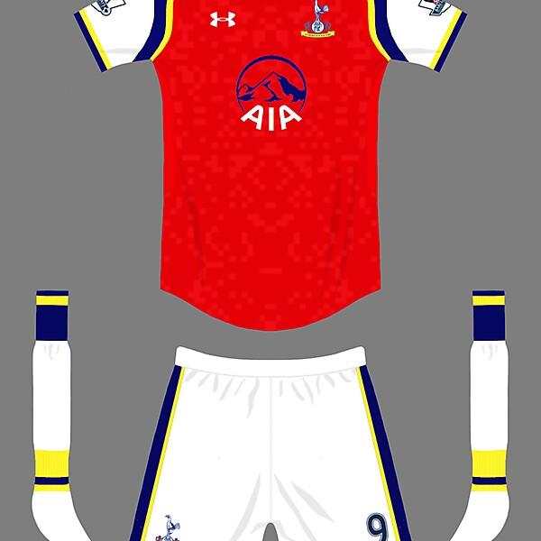Tottenham hotspurs. (Arsenal) away kit