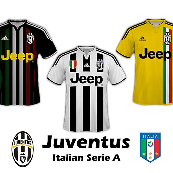 Juventus 14/15 Kit