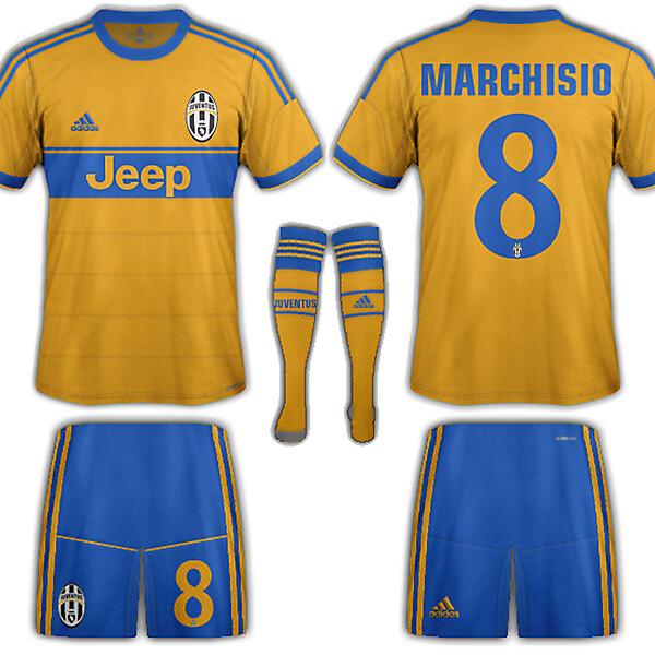 Juventus adidas away