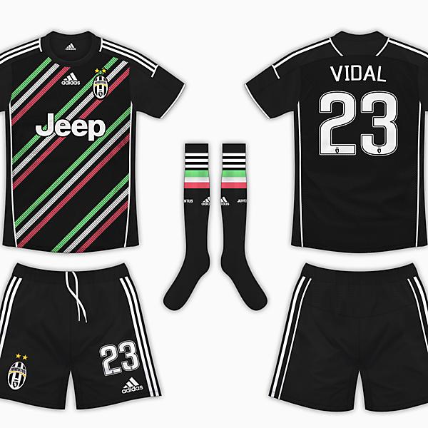 Juventus Away Kit - Adidas