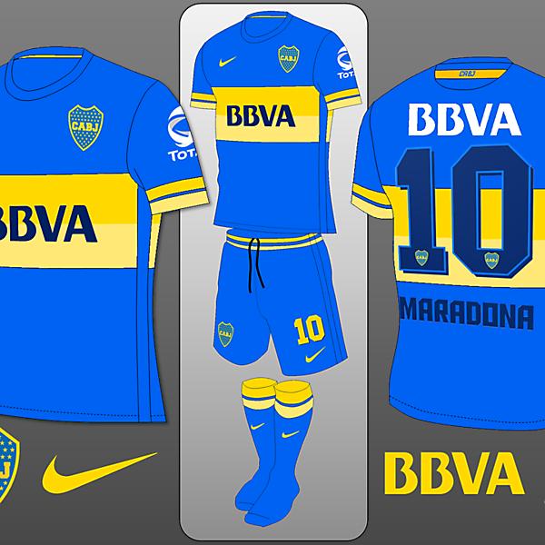 Boca Juniors Nike Home Shirt Concept