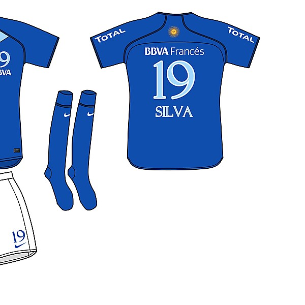 Boca Juniors Nike Fantasy Third Kit