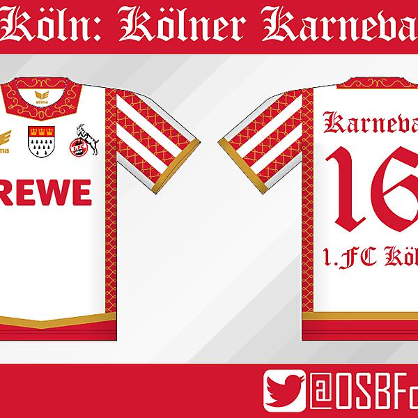 1.FC Köln - Kölner Karneval Kit