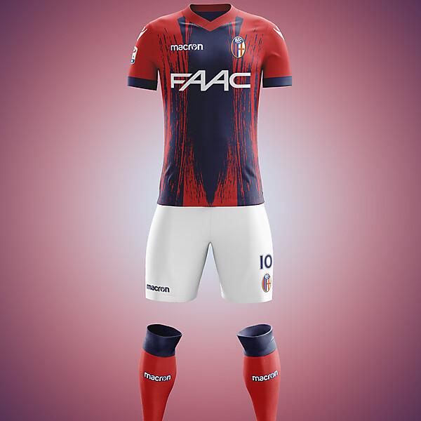 Bologna FC - Macron Home Kit