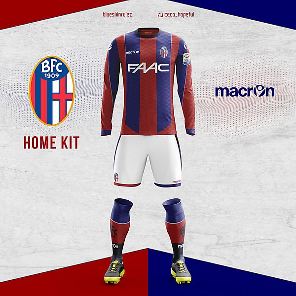 Bologna home kit X Macron