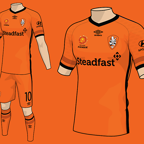Brisbane Roar Umbro Home Kit