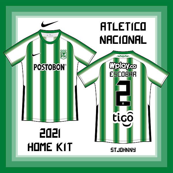 国民竞技 Atletico Nacional_Home
