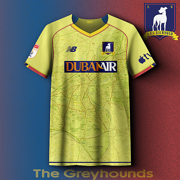 AFC Richmond change concept kit