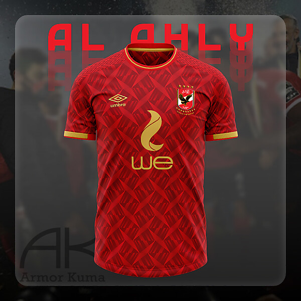 Al Ahly Umbro Home Kit