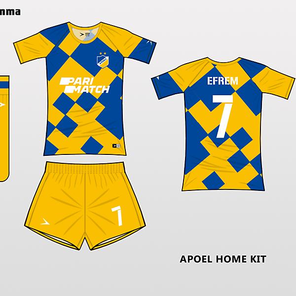 apoel home kit