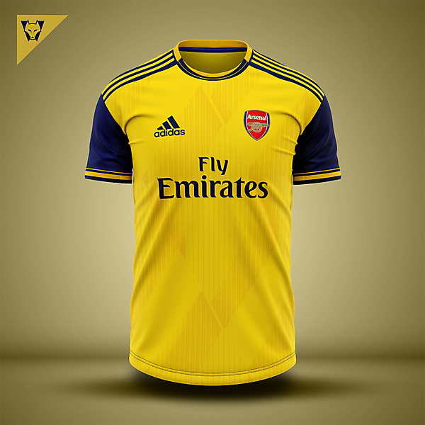Arsenal away concept