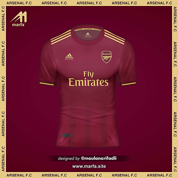 ARSENAL F.C FANTASY 4th KIT CONCEPT