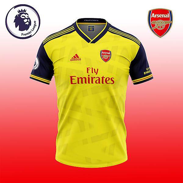 Arsenal Yellow shirt consept