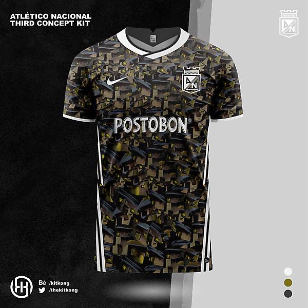Atlético Nacional | Concept 3rd kit
