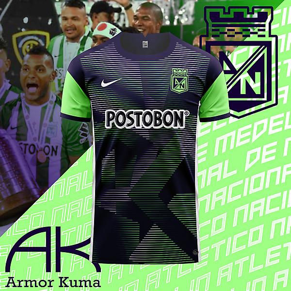 Atletico Nacional Nike Away Kit
