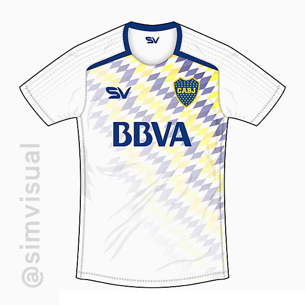 Boca Juniors Away Shirt