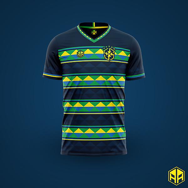 Brazil away kit concept
