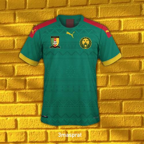 Cameroun Home Shirt
