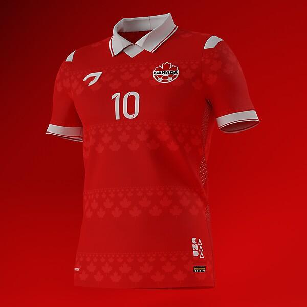 Canada National Team   Home Shirt