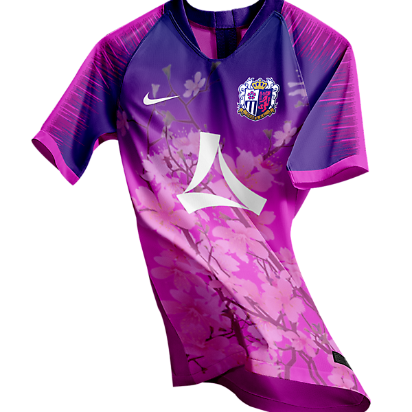 Cerezo Osaka home shirt