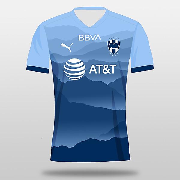 C.F. Monterrey 3rd Kit