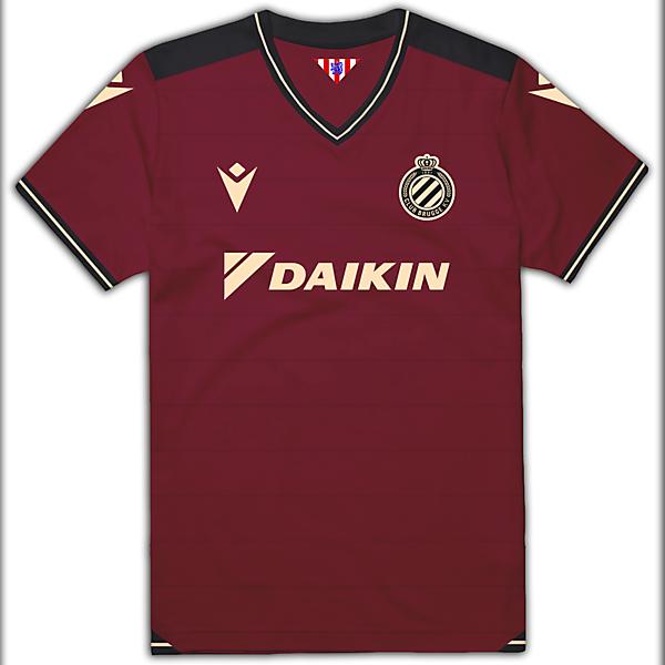 Club Brugge Thrid Kit