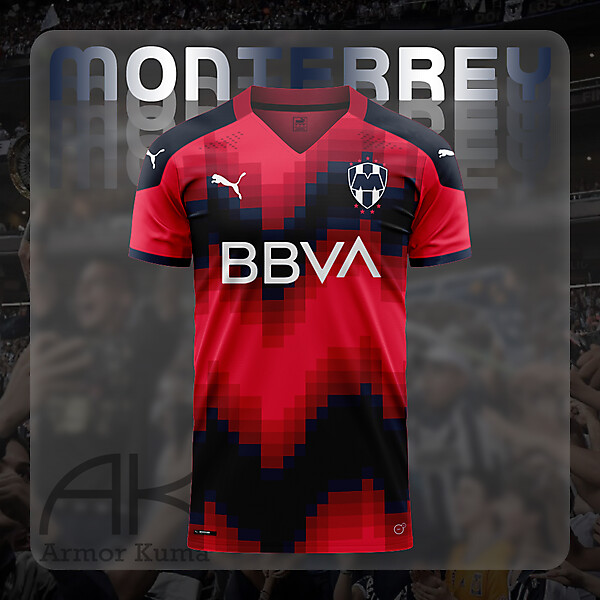 Club de Fútbol Monterrey Puma Third Kit