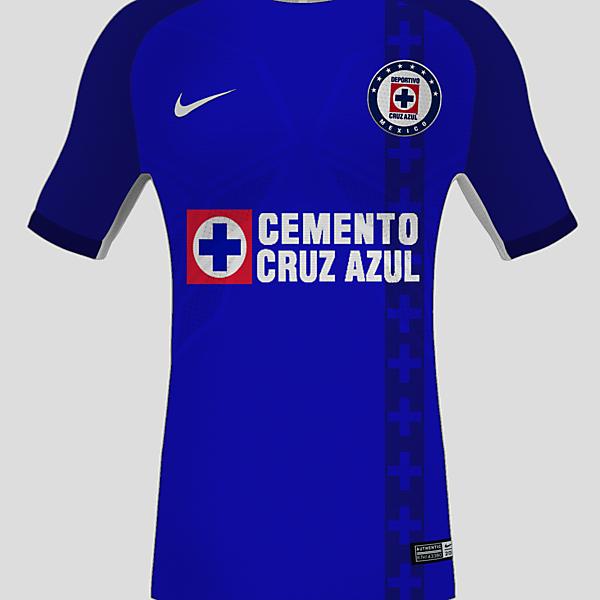 Cruz Azul - Nike Home