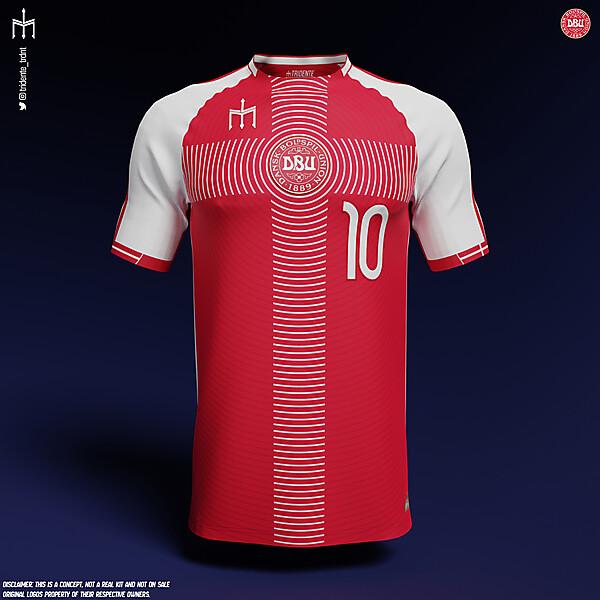 Danmarks Fodboldlandshold X TRIDENTE | Home kit | KOTW