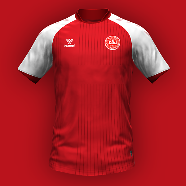 Denmark home kit by @feliplayzz