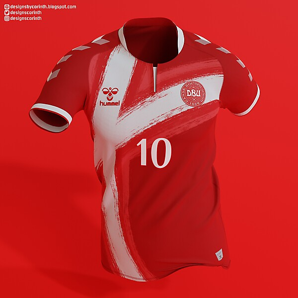Denmark National Team | Home Shirt