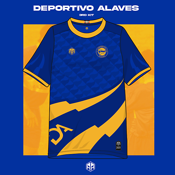 Deportivo Alaves 3rd kit concept