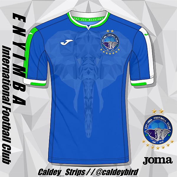ENYIMBA INTERNATIONAL FOOTBALL CLUB | 20/21 Home Shirt Concept