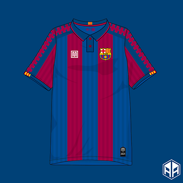 F.C Barcelona Meyba home kit concept