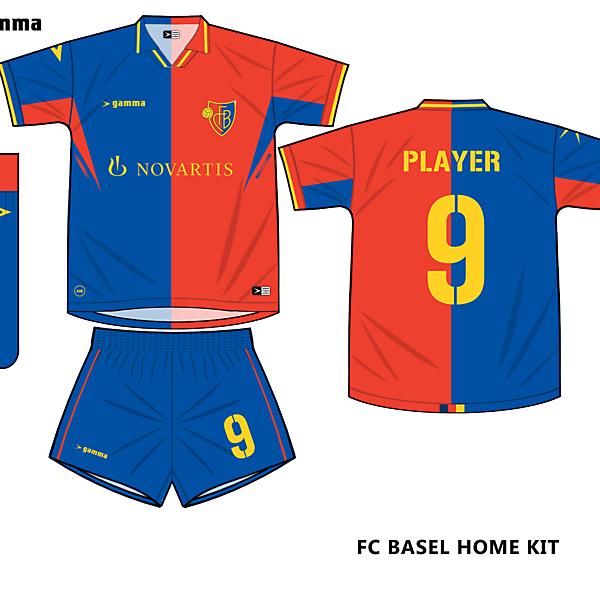 fc basel home kit