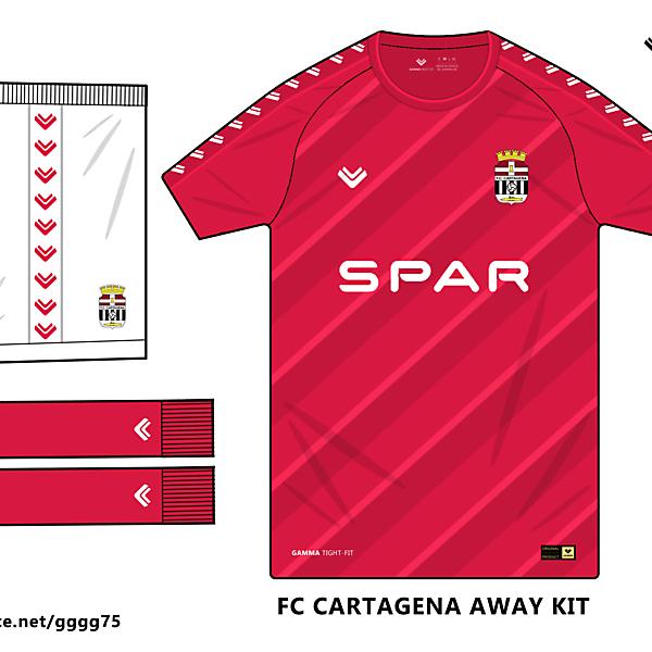 fc cartagena away kit