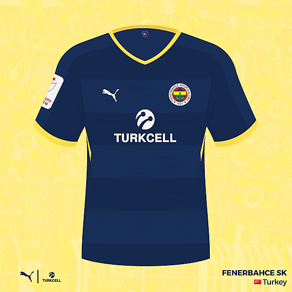 Fenerbahce SK - away kit