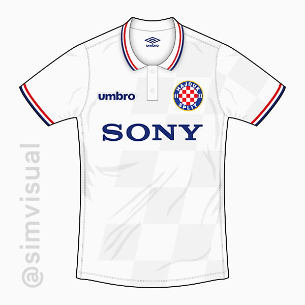 Hajduk Split - Home Shirt - Umbro