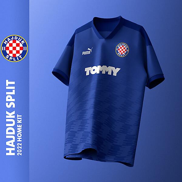 Hajduk Split X Puma | Home kit