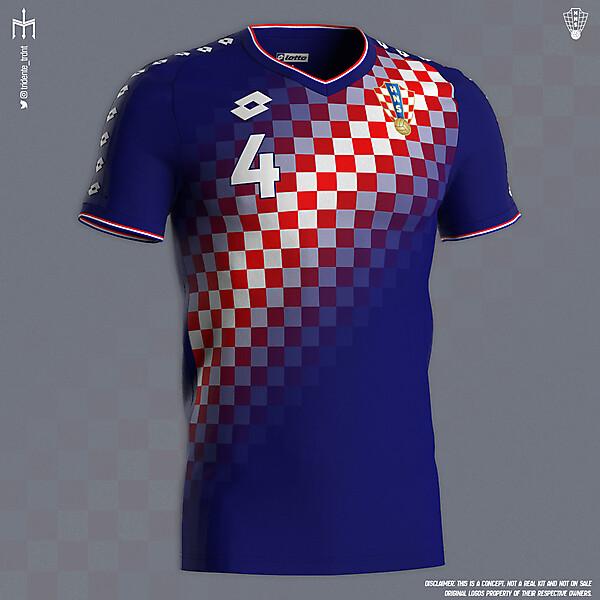 Hrvatska Nogometna Reprezentacija X Lotto | Away kit | KOTW