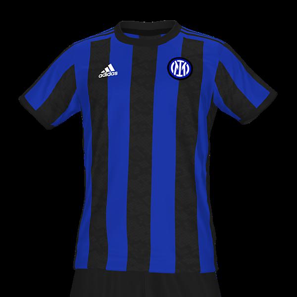 Inter Milan adidas home kit by @feliplayzz