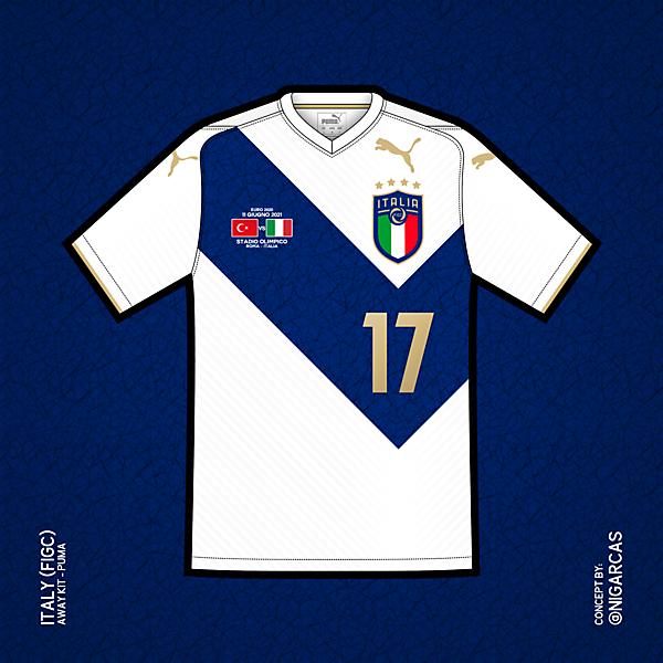 Italy - Away Kit