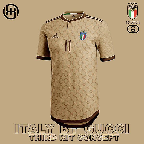 Italy by Gucci   Third kit concept