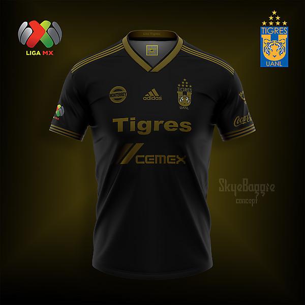 Kit conceptual Tigres, negro y dorado