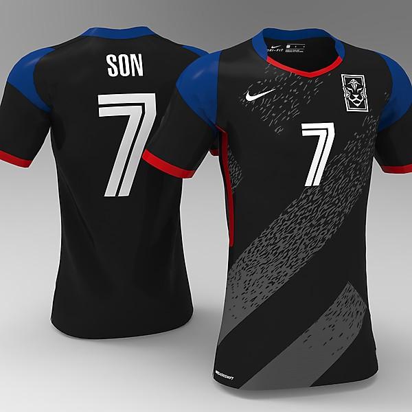 Korea Away kit - KOTW