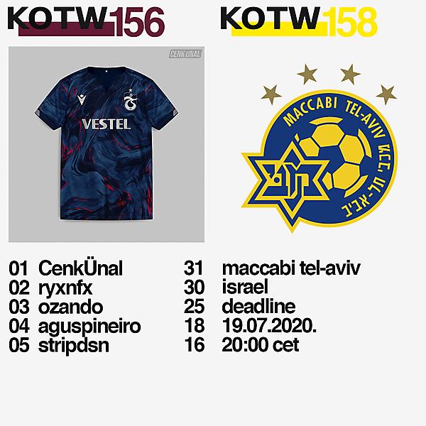 KOTW156 / KOTW158