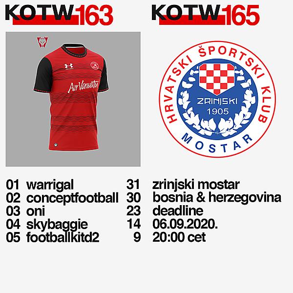 KOTW163 / KOTW165